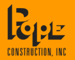 POPE CONSTRUCTION INC.